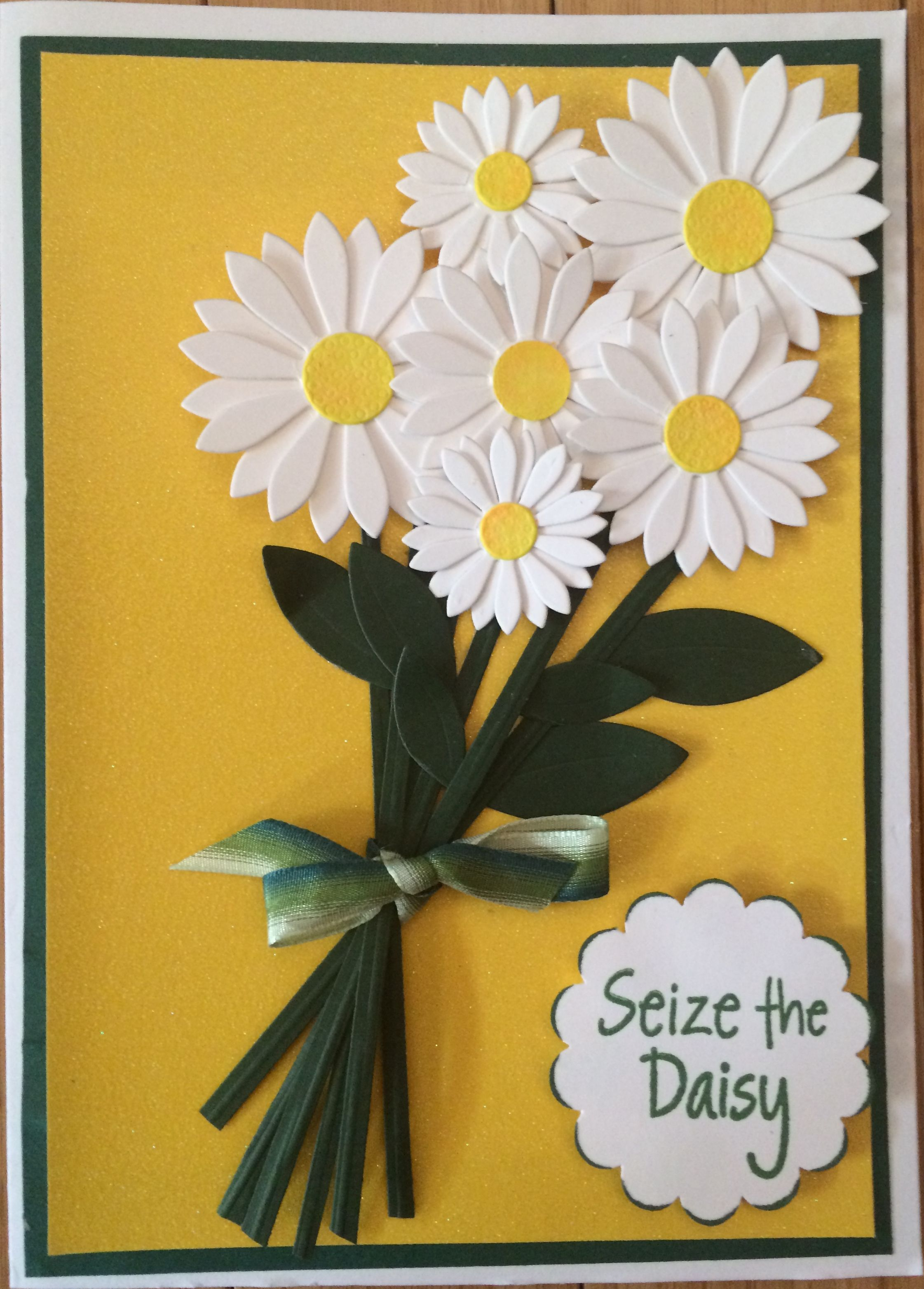 Goodbye Card For A Friend Used Mft Upsy Daisy Die Cards Flowers