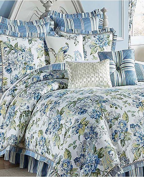 Cozy Homestyles: Ellery Homestyles Waverly Floral Engagement 4 Piece Queen