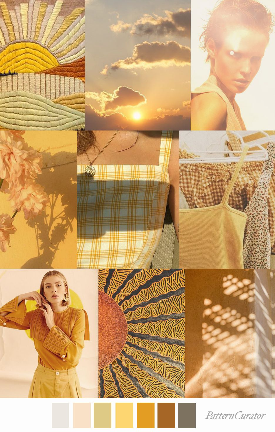 Pattern Curator SUN RAYS