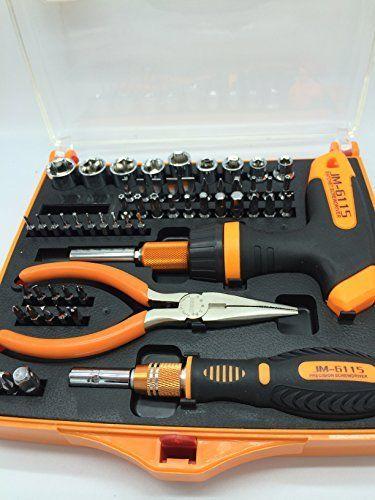 New 60 en 1 Kit de réparation de précision tournevis Torx Outils - reparation de porte en bois