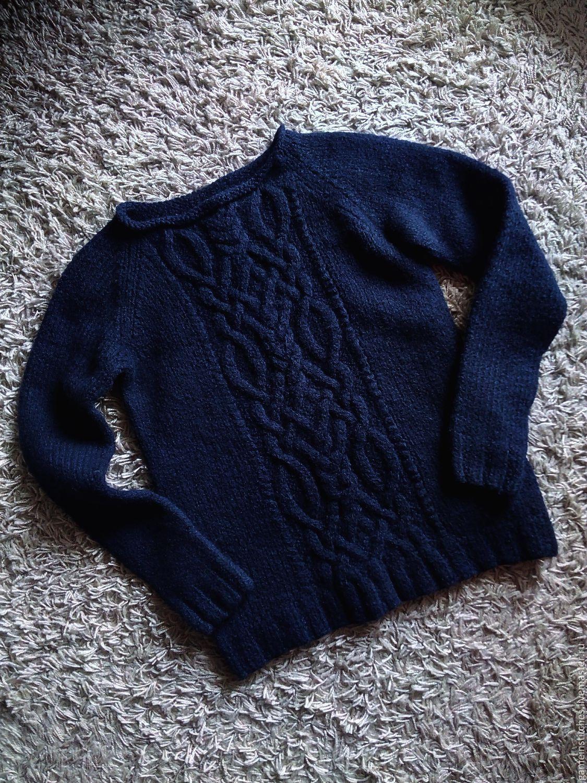 свитер окутаная косами схема