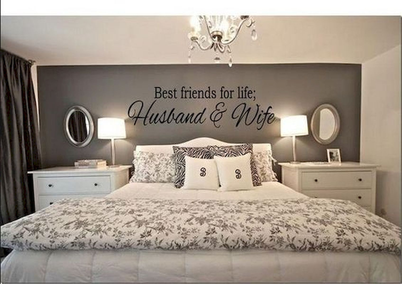 Gorgeous 55 Romantic Bedroom Decor For Couple Source Https House8055 Com 55 Romantic Bedroom Decor For Couple Master Bedrooms Decor Home Bedroom Makeover
