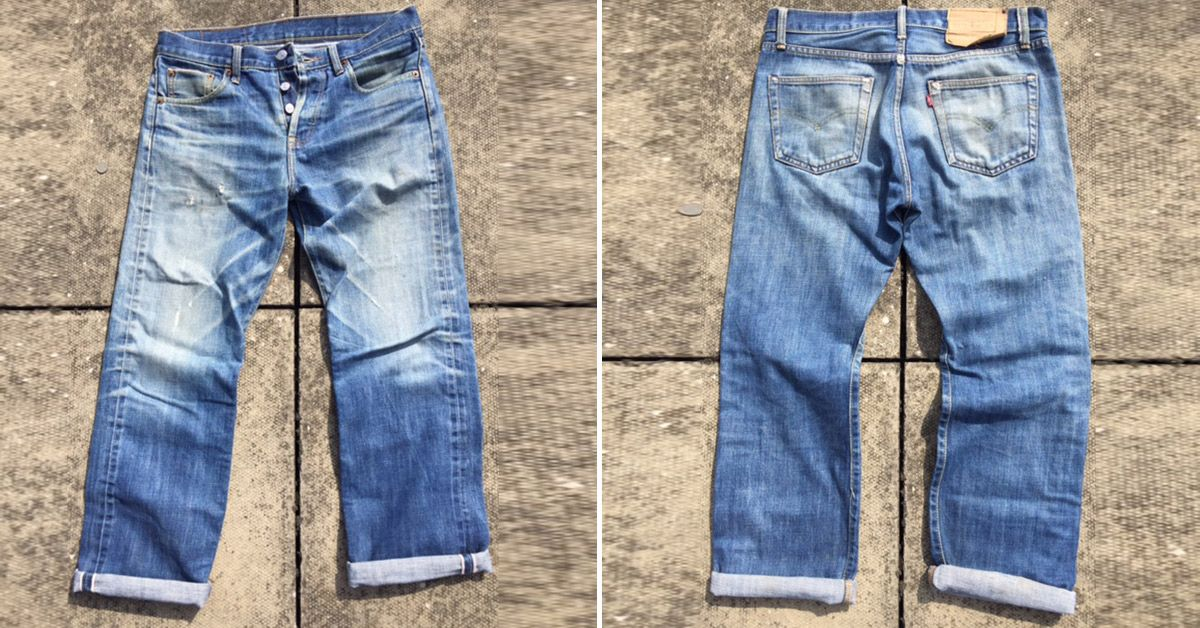 9c0c5294b12 Levi's 501 STF (3 Years, Unknown Washes) - Fade of the Day | Heddels ...