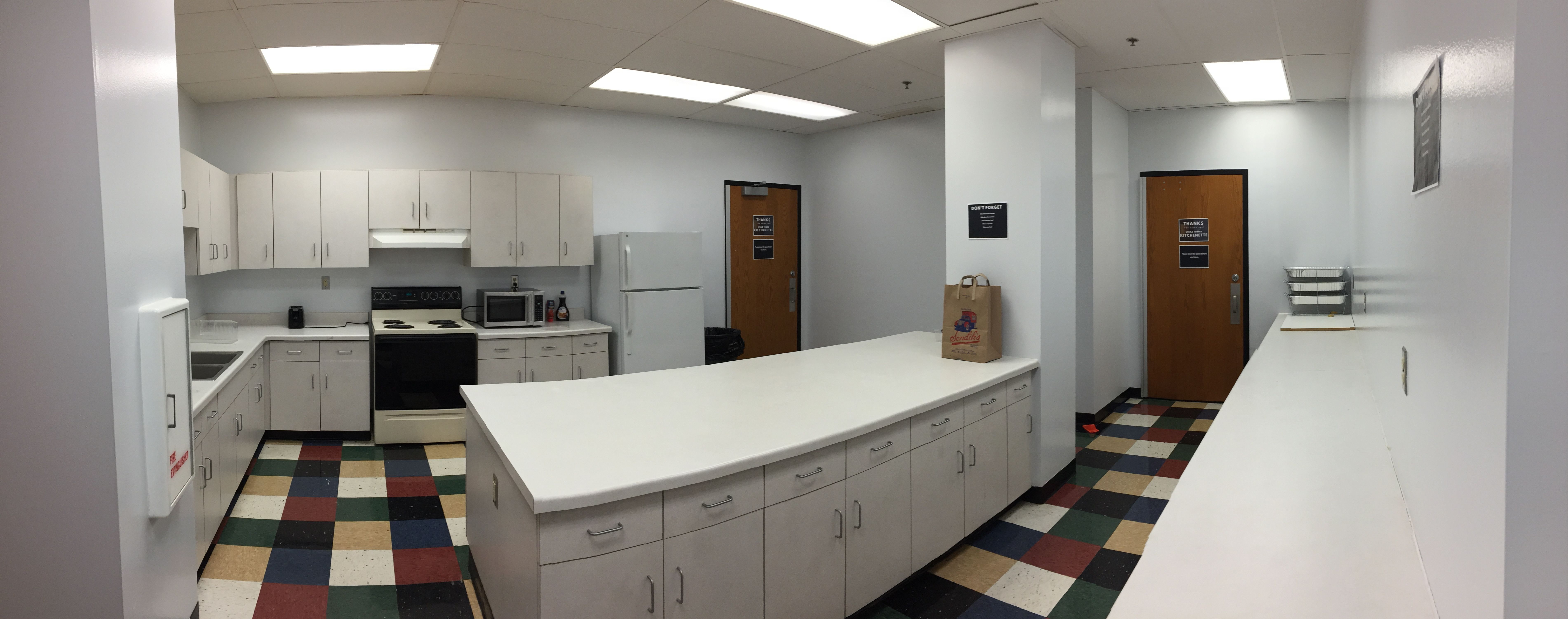 Marquette Academic Calendar 2021-22 Marquette University Straz Tower Residential Dorm kitchen in the