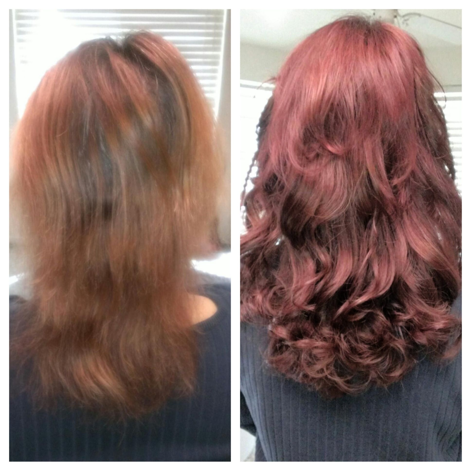 Before After Matrix Socolor And The Help Of Extensions Helped