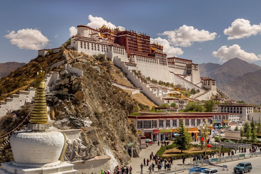 TIBET - A day in Lhasa: Potala Palace & minor temples