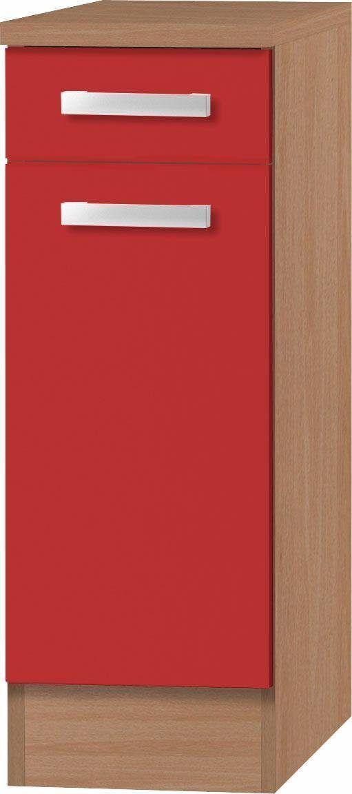 OPTIFIT Unterschrank »Odense« rot Jetzt bestellen unter   - wohnzimmer rot grau beige