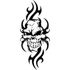 Image Result For Tribal Skull Tattoos Tribal Skull Tribal Drawings Tribal Art Tattoos