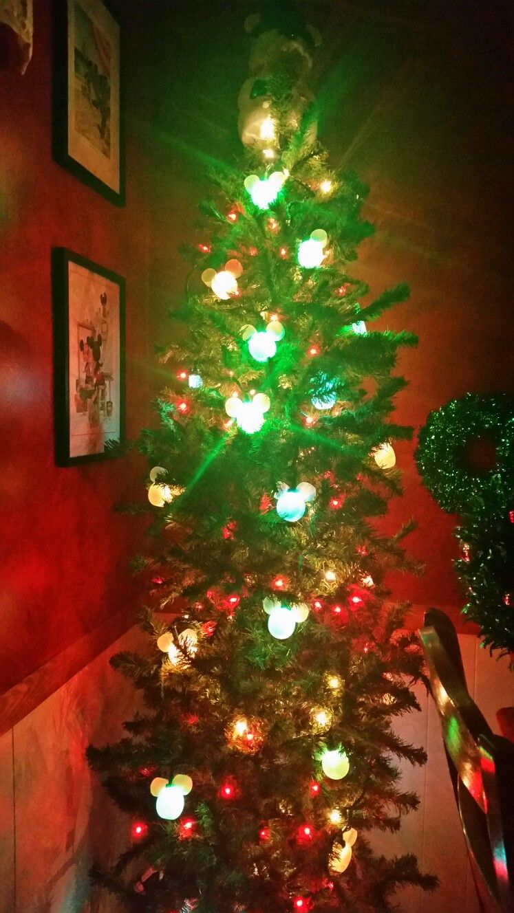 Disney tree with color changing lights | Christmas at the Jackson ...