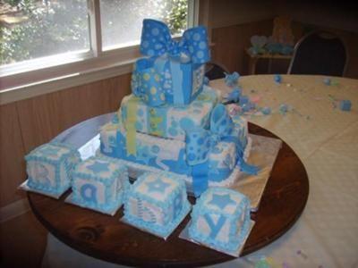 baby block cake  baby shower cakes, Baby shower invitation