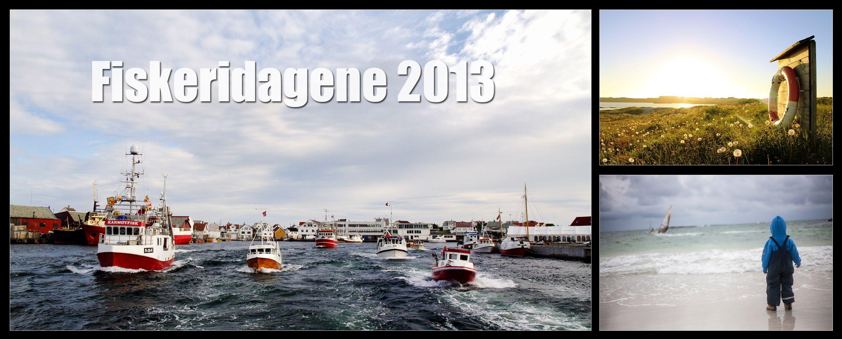Vi hadde fotokonkurranse for å finne årets motiv til festivalkortet for Fiskeridagene. Takk til bidrag fra: 1: Odd Jostein Fabrin  2: Solgunn Stava Rasmussen  3: Kjell Eirik Jakobsen