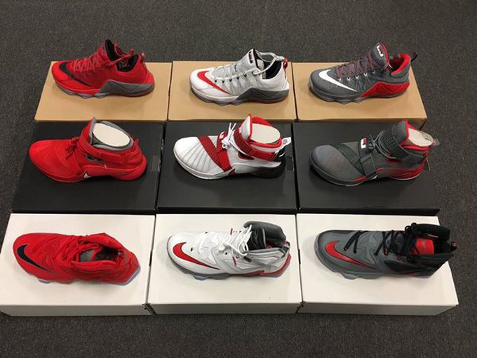 LeBron James Blessed Ohio State With Several PE Nike LeBrons