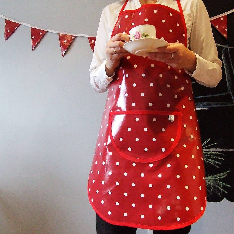 Red & white spotty theme!