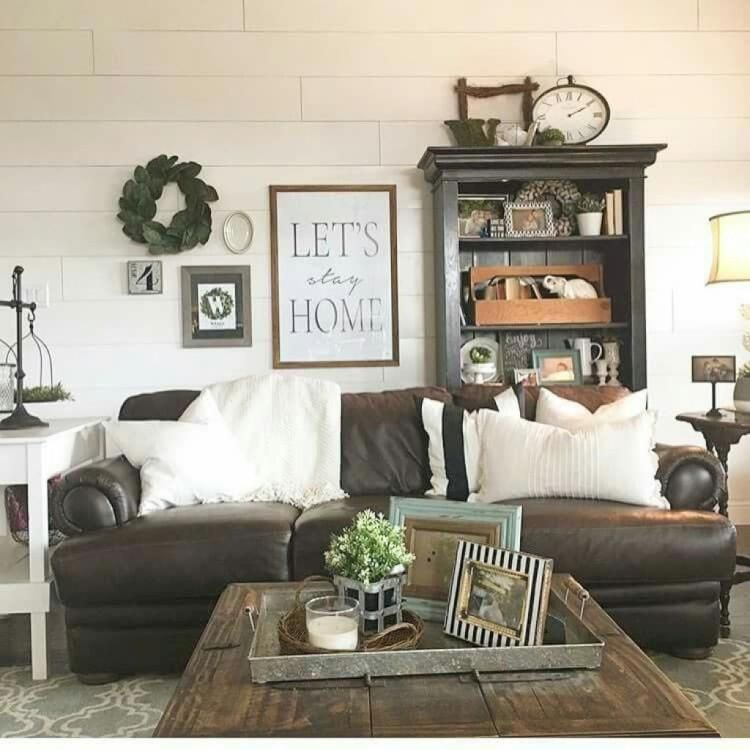 30 modern farmhouse living room decor best ideas modern for Elegant farmhouse living room