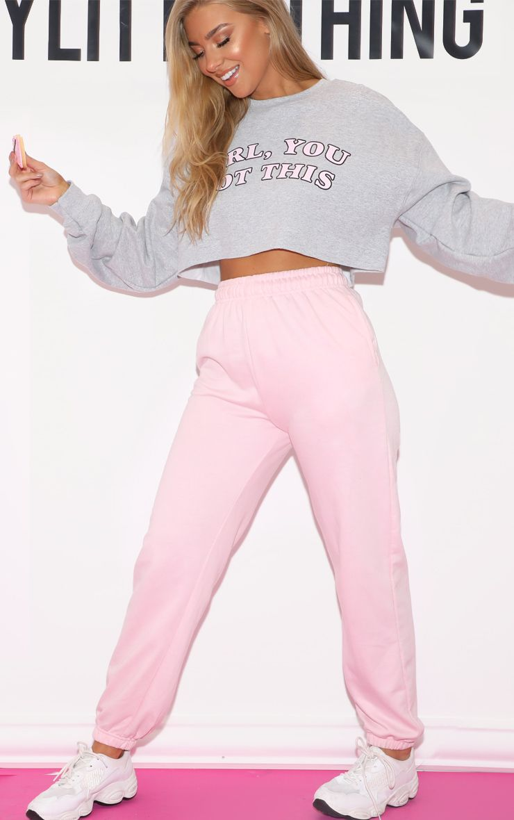 enjoy cheap price 2019 hot sale moderate price Baby Pink Casual Jogger | jogger inspo in 2019 | Joggers ...
