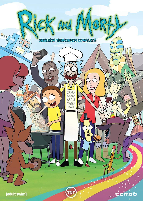 Rick Y Morty 2a Temporada Dvd Morty Rick Dvd Temporada Rick Y Morty Rick Y Ver Rick Y Morty