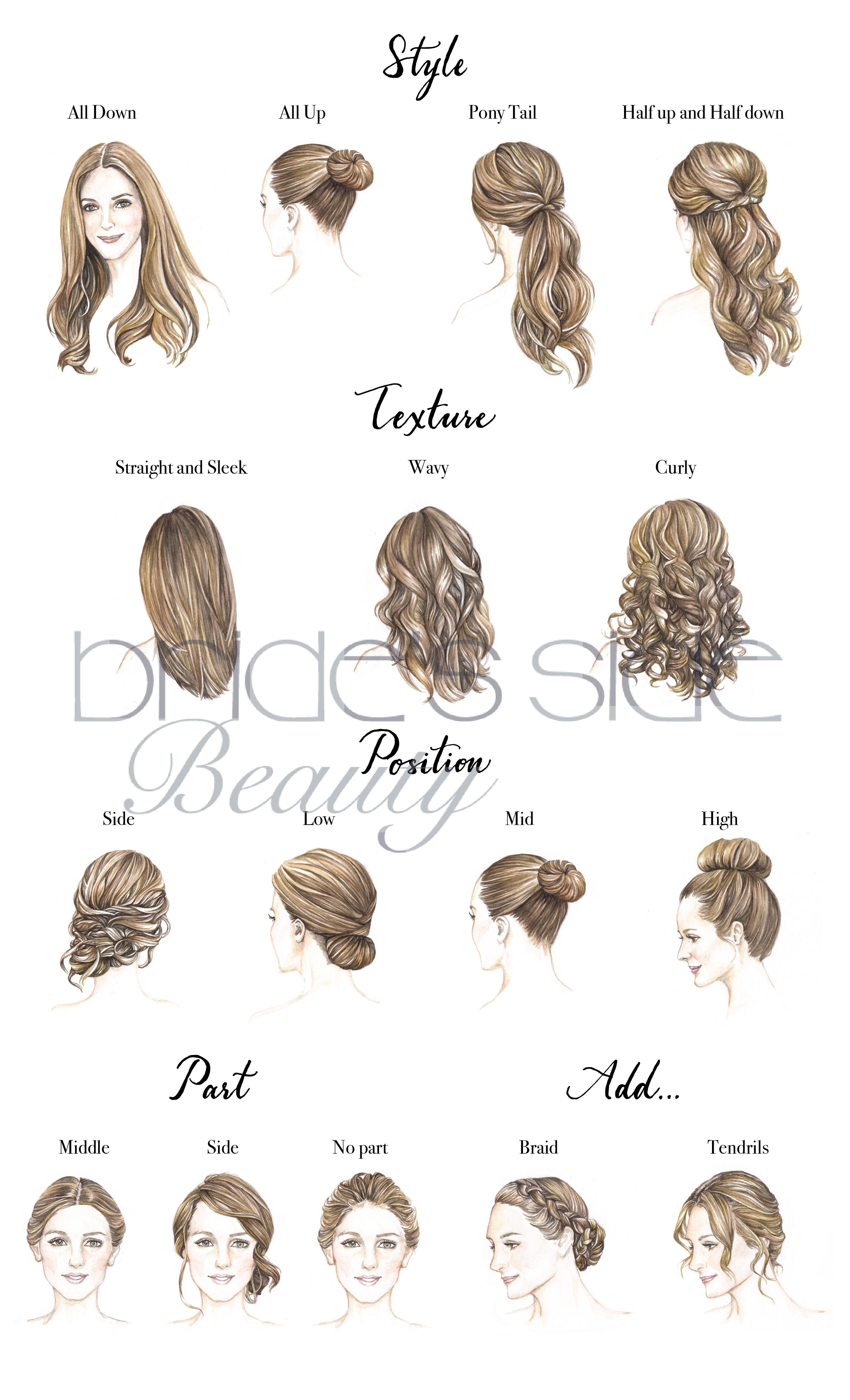 Wedding Hair Illustration Front View Google Search Wedding Hair Front Bridal Hair Half Up Wedding Hairstyles Half Up Half Down
