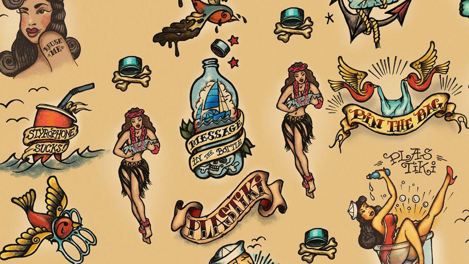 40348d32c sailor jerry tattoo style - Google Search | Sailor Jerry Tats