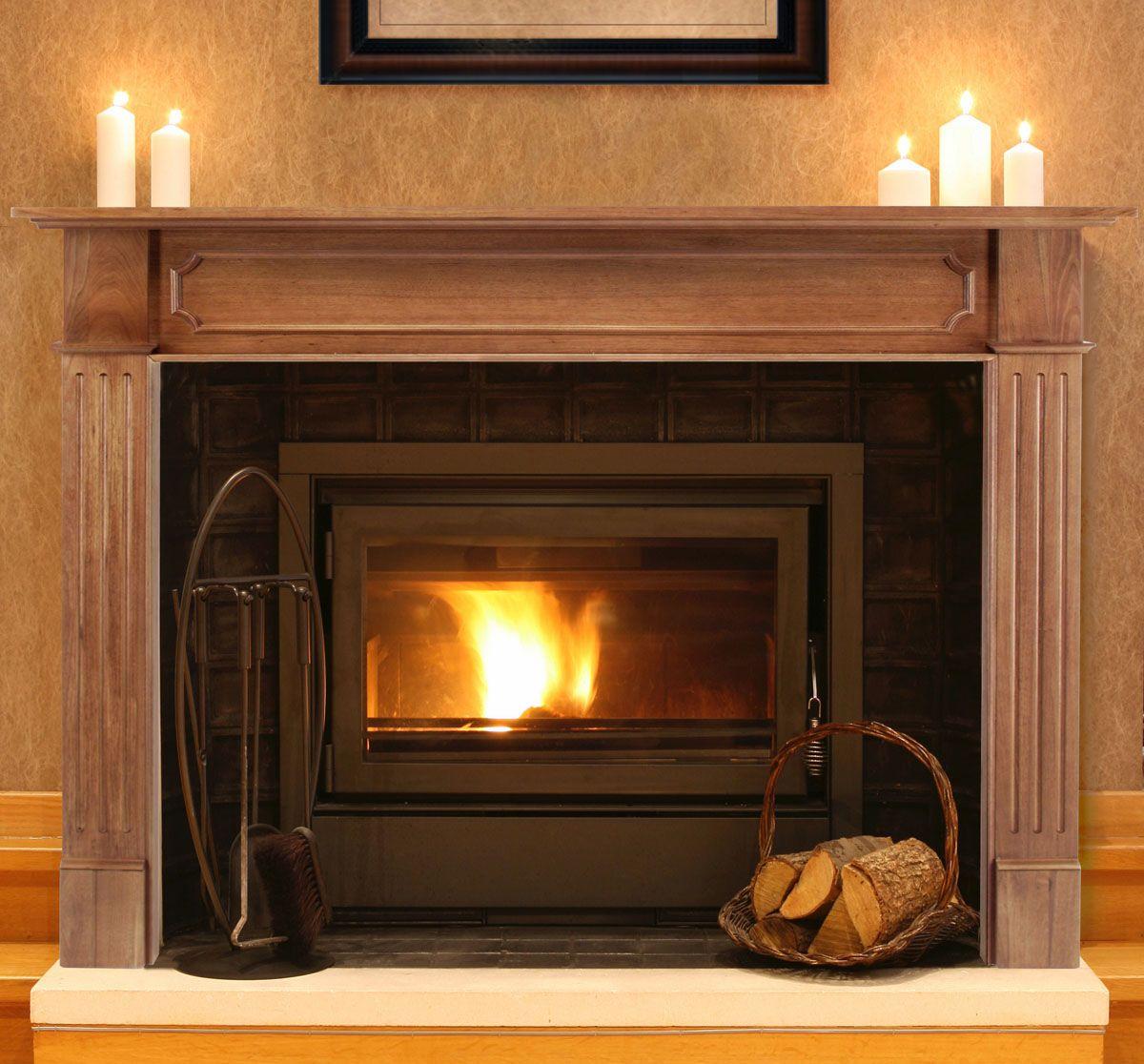 Wm fireplace pinterest fireplace redo wood mantels and