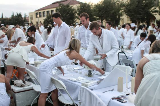 Diner En Blanc | Kirbie's Cravings | A San Diego food blog