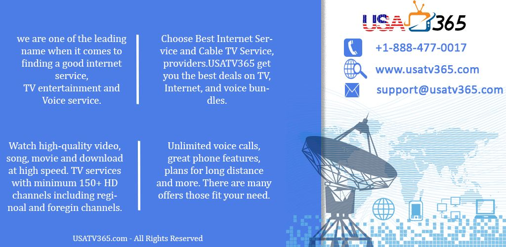 We Provides You Cable Tv Home Phone And Fast And Reliable Home