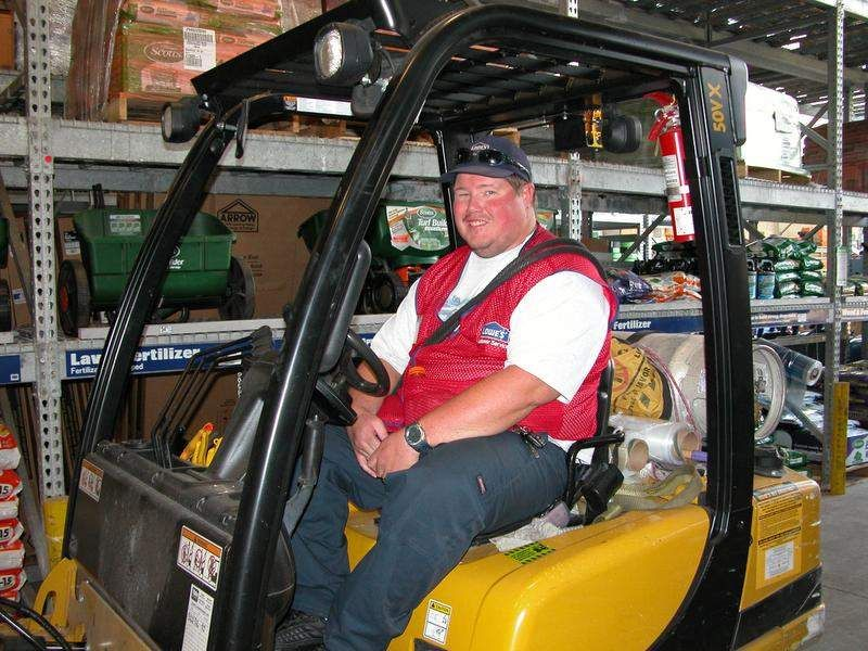Duscher makes customer service a priority at Lowe's Lowe