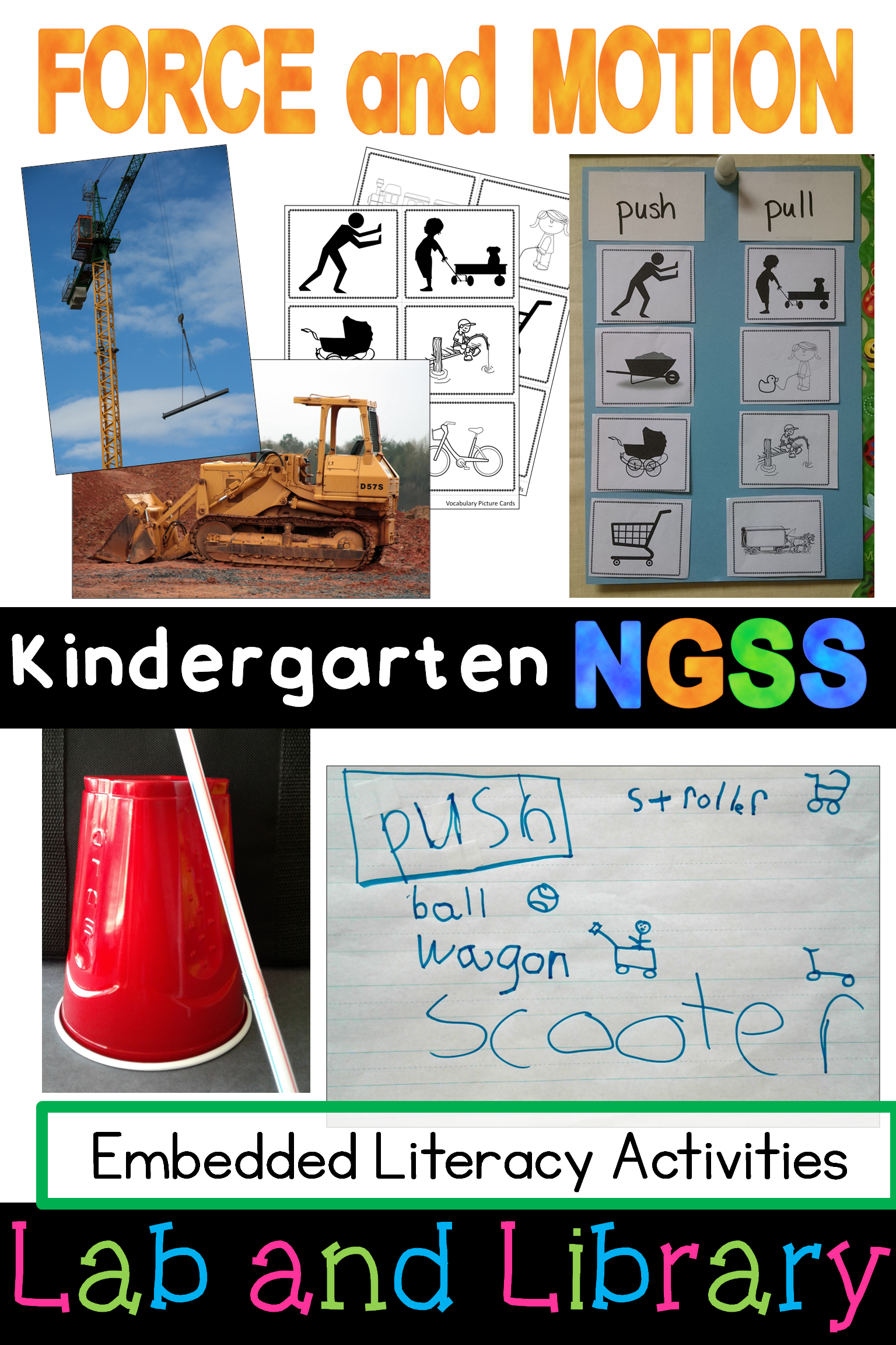 Kindergarten Classroom In Motion Pushes Amp Pulls Ngss