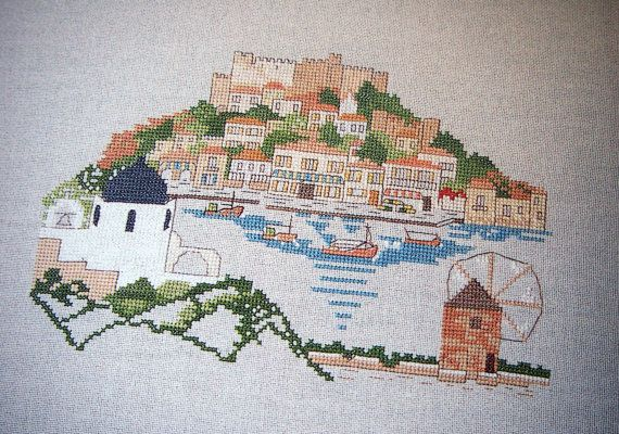 Cross Stitch Castles & Cottages By Jane Greenoff by NeedANeedle
