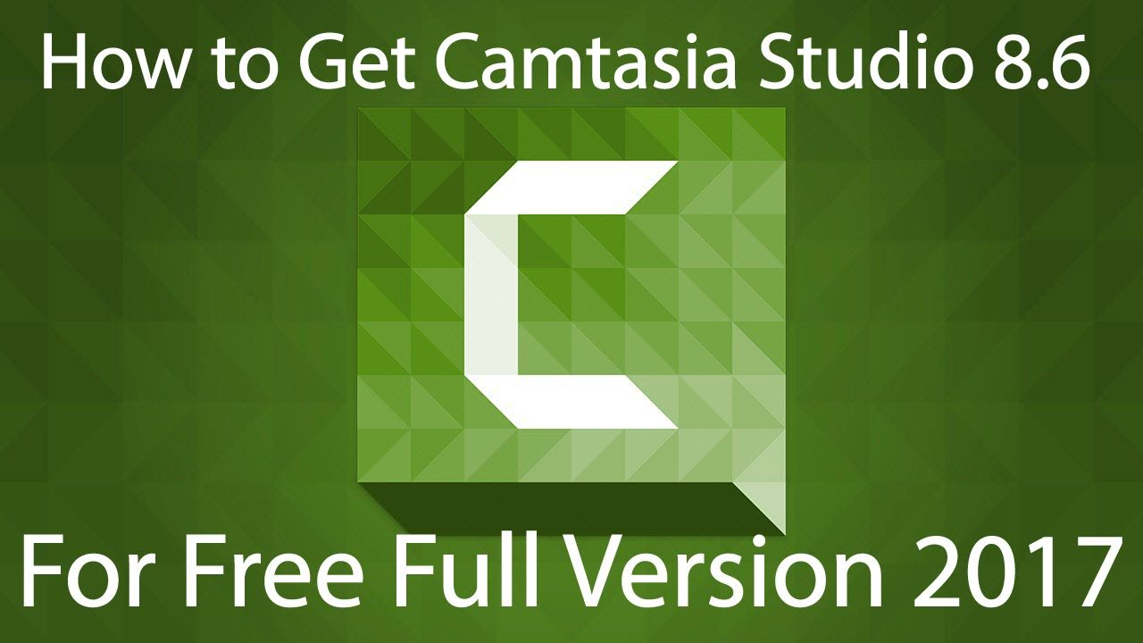 TechSmith How to Get Camtasia Studio 8.6 For Free Full