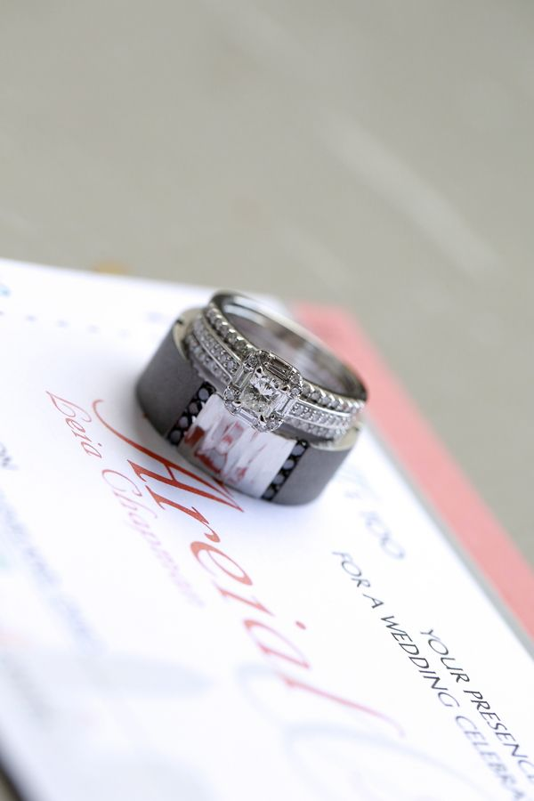 Lovely Engagement Wedding Rings A Cleveland Love Story By Jazzy Mae Photography
