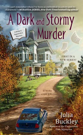 A Dark and Stormy Murder by Julia Buckley 9780425282601   PenguinRandomHouse com Books is part of Cozy mystery books, Mystery books, Cozy mysteries, Cozy mystery series, Mystery book, Cozy mystery book - An aspiring suspense novelist lands in the middle of a real crime in the first Writer's Apprentice mystery      Lena London's literary dreams are coming true—as long as she can avoid any reallife