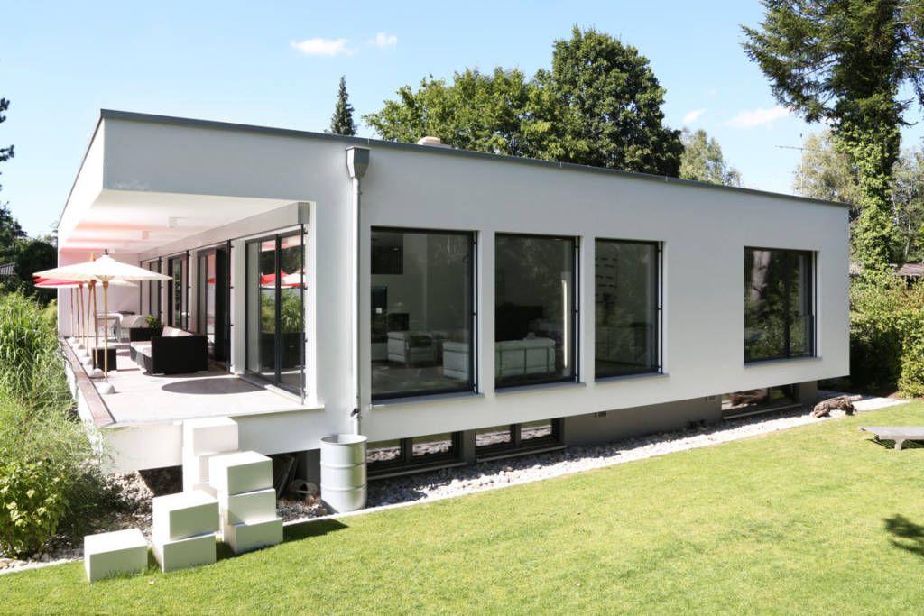 Bauhaus Architektur Einfamilienhaus minimalistische häuser bilder bauhaus villa in münchen