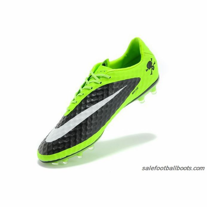 Nike Hypervenom Phantom FG With Fluorescent Green Black White  63.99 ... 36e781e60354