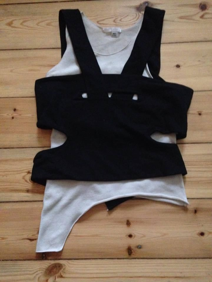 set of holster and tank • helmut lang