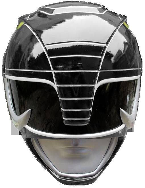 Mmpr Black Ranger Helmet Render By Russjericho23deviantart