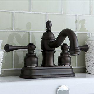 Superb Victorian Spout Oil Rubbed Bronze Bathroom Faucet
