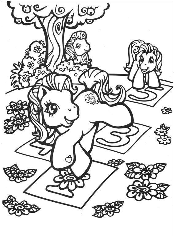 Desenhos Para Colorir My Little Pony : colorir.ploo.fr | Dibujos en ...