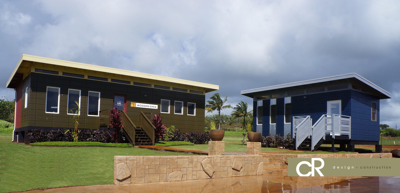 Modern shed hawaii dealer units