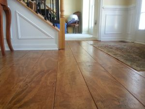 Wide Plank Distressed Pine Flooring Cheap Updated 2 5 17 Diy