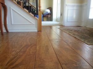 Wide Plank Distressed Pine Flooring Cheap Updated 2 5 17 Diy Wood Floors Pine Floors Diy Flooring