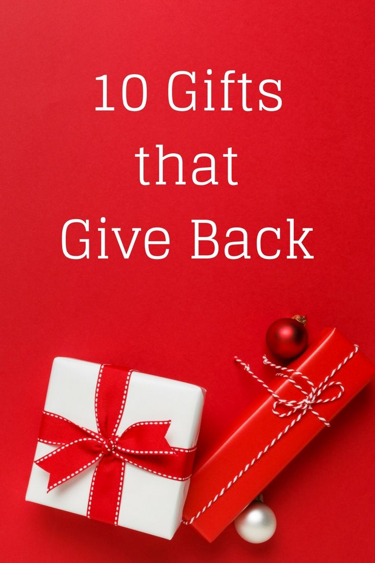 gift ideas for the person who has everything gifts that support a good cause