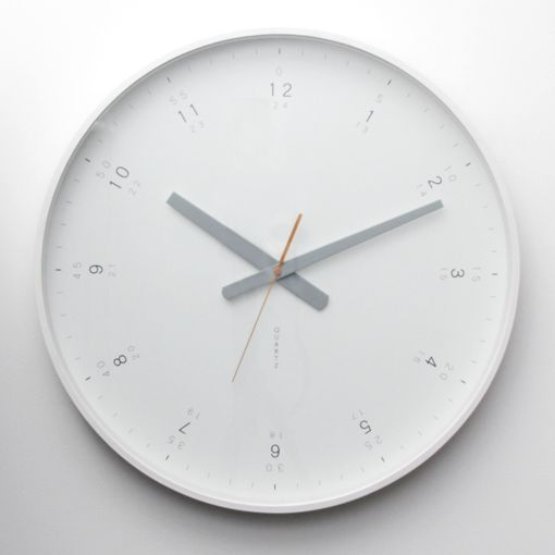 Buy Modern White Wall Clock Online With Fast Insured Australia
