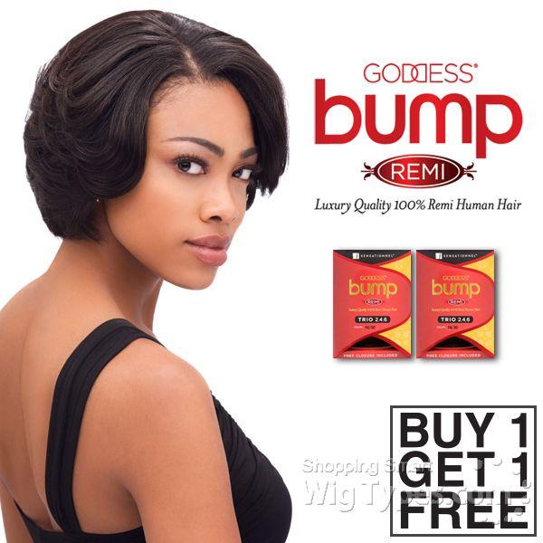 Sensationnel 100 0remy Human Hair Weave Dess P Trio 246 1 Get Free 7674