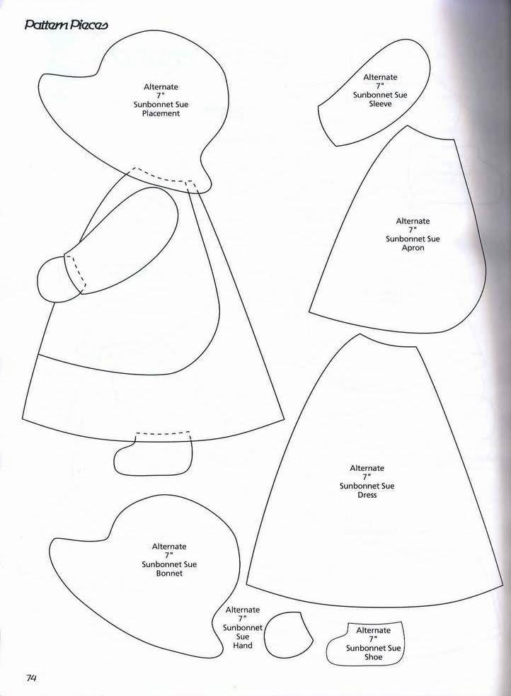 Patrones De Estas Muñecas Manualidades Decoración Aficiones Y ...