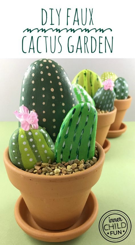 Rock Cactus Garden - Inner Child Fun