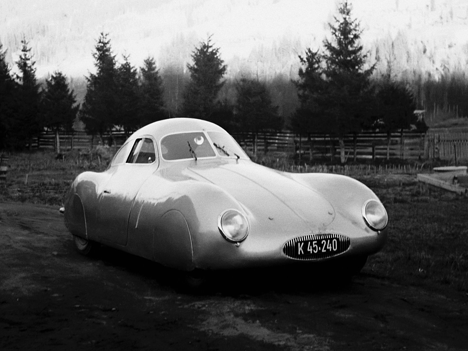 Porsche Type 64: Ferdinand Porsche First Car, Porsche type 64 ... on