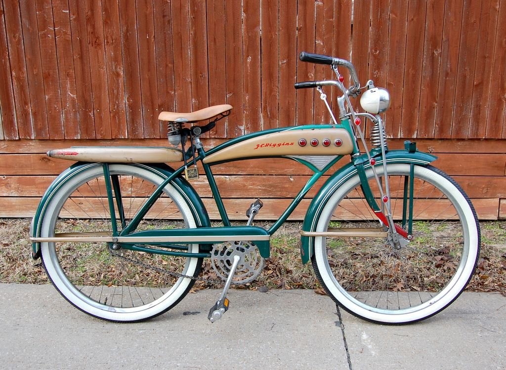 1950u0027s model JC Higgins Colorflow Hobbies Bicycles Pinterest - bodenbelag für küche