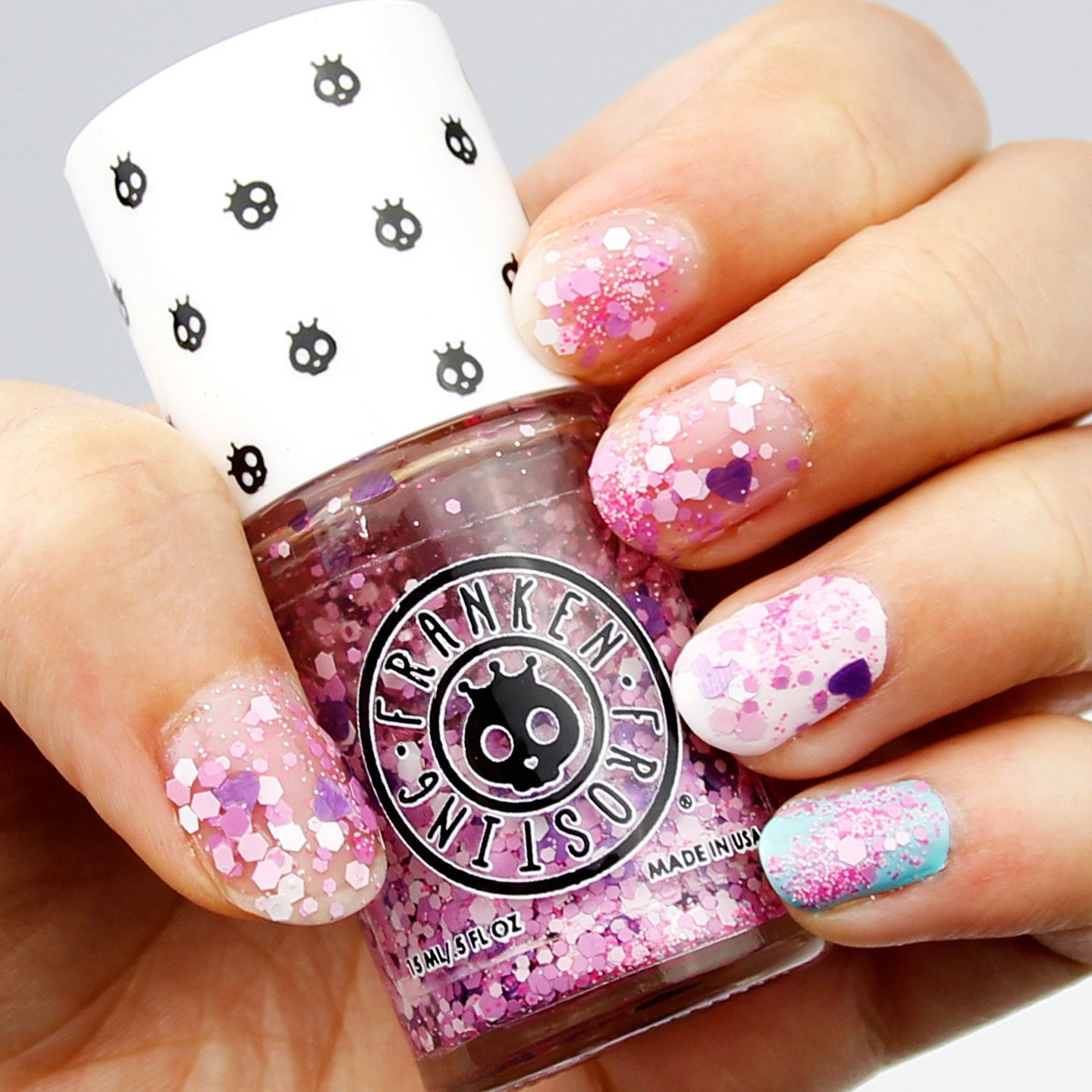 How To Blend Nail Polish On Your Nails