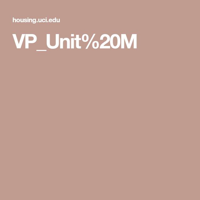 Uci Graduate Student Housing Verano Place Unit M The Unit Bachelor Pad Verano