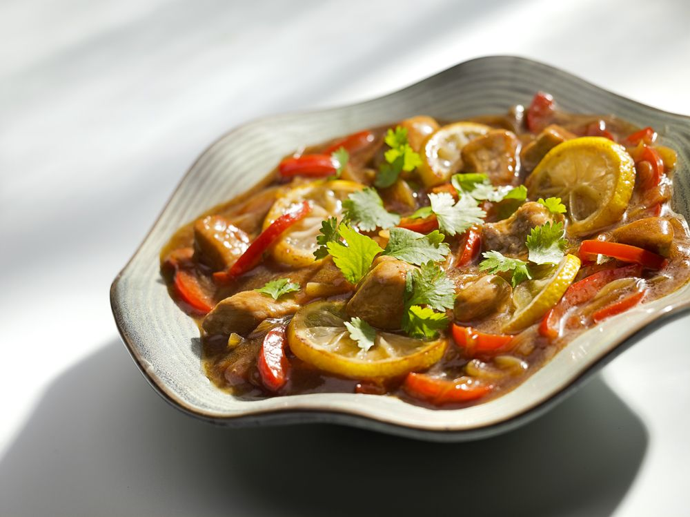 Potrawka Z Wieprzowiny W Cytrynach Z Przyprawami Kuchnia Lidla